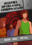 HSC: Book One: Metal - Book (Fake DVD) Cover by AirMasterParker