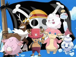 Chopper's Pokemon by magmon47