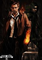 Arrow and constantine. by spidermonkey23
