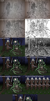 Necromancy in the forest - workflow by Cymoth