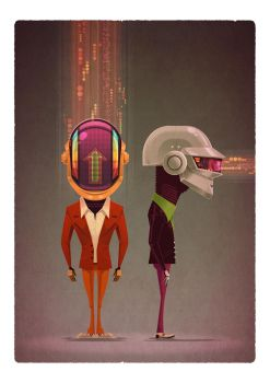 ReDiscovery: An Art Show Inspired by Daft Punk by jamesgilleard