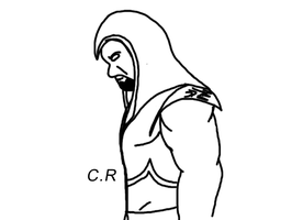 wwe Undertaker: quick drawing by celtakerthebest