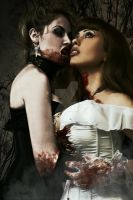 Bloodstained Kiss by DavidDarkheartKing