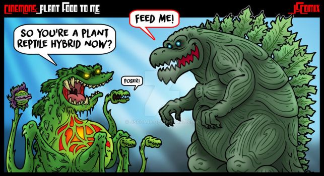 CineMons: Plant Food to Me by JSComix