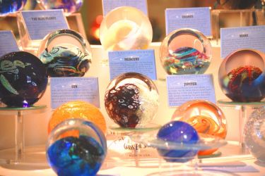 Glass blown paperweights by Punko0