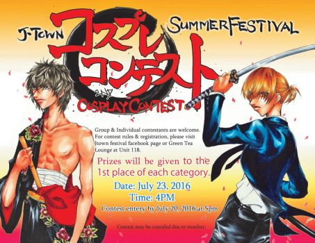 Cosplay Contest 2016 by shiroisshiki