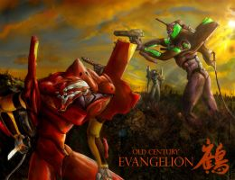 Old Century Evangelion by Magamish