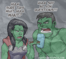 HULK NEED EXCITEMENT IN BEDROOM by Formidabler