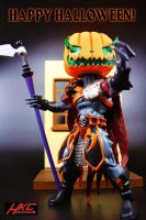 Happy Halloween with Custom MOTUC PUMPKOR by hunterknightcustoms