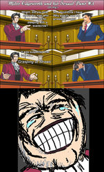 Miles Edgeworth and His Sexual Puns #3 by DarkMatter89