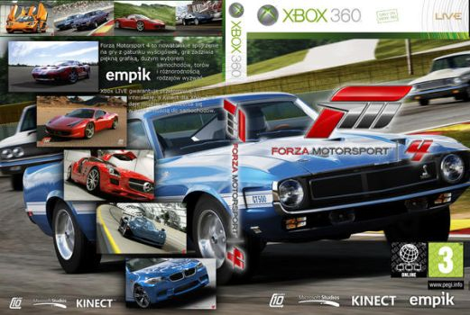 Forza 4 Custom Cover by gandiusz