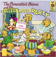 The Berenstain Bears and the college house party by thearist2013