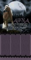 Custom Layout for AiiNA by FromHallowedWithLove