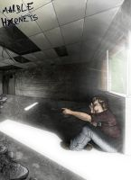 Marble Hornets 65 - He's right there! by Axylh