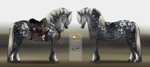 Draft Horse Design ll  AUCTION SOLD by Shevy-Art