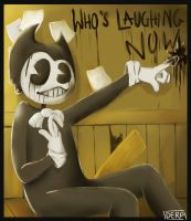 Bendy and The ink machine by derpyderpsheep