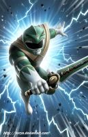 Green Ranger Fan Art by ferryo