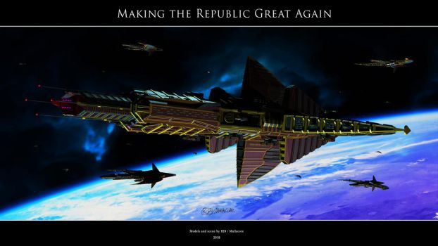 Babylon 5 - Making the Republic Great Again by Mallacore