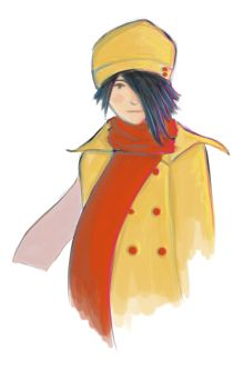 Girl in the Yellow Coat by Rinichi