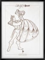 Disney Signature Collection - BEAUTY AND THE BEAST by davidkawena