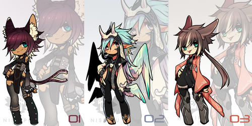 More Set Price Adopts - Closed by Nishipu