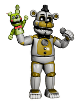 Funtime Golden Freddy and Springtrap by TommySturgis