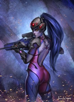 Widowmaker by fdasuarez