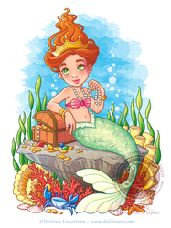 Mermaid's Treasure by Dalliann