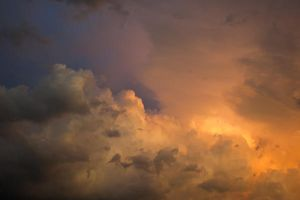 Moody Sky Stock by little-spacey