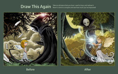 Draw This Again Challenge by julif-art