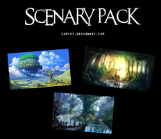 SCENERY PACK +50 by ZomToy