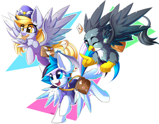 Mail Squad by Kaleido-Art
