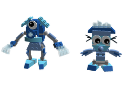 LDD Mixels: Blower-Bubbies Models (expect Lathy) by Luqmandeviantart2000
