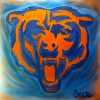 Chicago Bears airbrush by dx