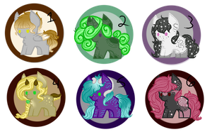 ~: Pastel Adopt Set :~ [3/6 OPEN!] [PRICE DROP!] by LillithCrescent