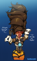 [CM] Tracer's Auntification by SutibaruArt