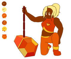 Sphalerite reference by LynnesGalaxy