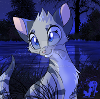 Silverfoot by JB-Pawstep