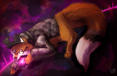 [Commission] Galaxies by Arkayy