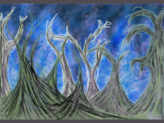 Swampy Webbing Trees by Zayfod