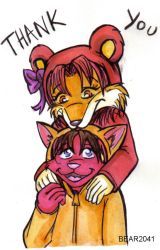 Teddy and Amber 3 by BEAR2041