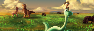The Good Dinosaur by MattGavasheli