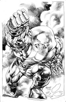 Colossus Juggy by gammaknight