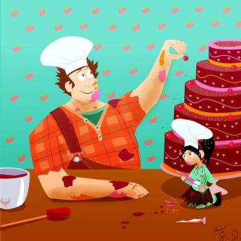 Wreck-It Ralph: 55 Classic Disney Films Collab by Fox-The-Wandering