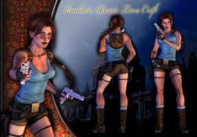 HD Realistic Classic Lara by ViCt0RXD