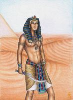 The Great Pharaoh of Egypt by MyWorld1