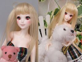 RML Animetic faceup and Animetic eyes by RMLBJD
