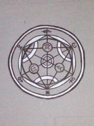 Transmutation circle by theuberdiaoone