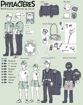 WOP Reference : Police by codex777