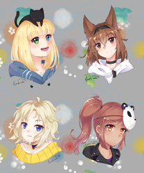 Headshot CM batch 1 by lunatic-neko